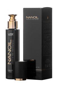 Nanoil Haaröl für Haare mit geringer Porosität